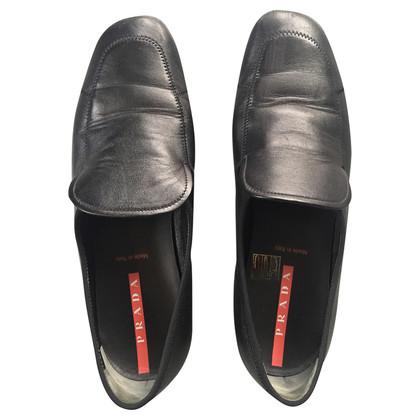 Prada Black loafers