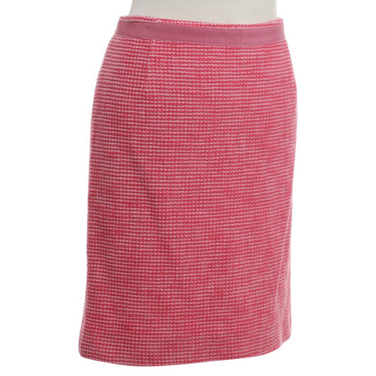 Max Mara skirt in coral red