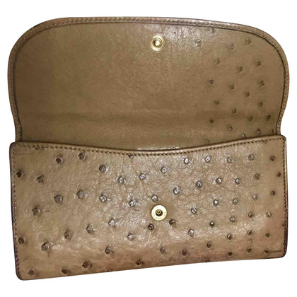 Gucci Wallet in struisvogelleer