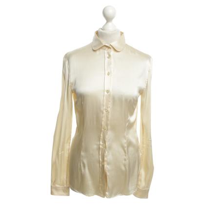 D&G Zijden blouse in crème