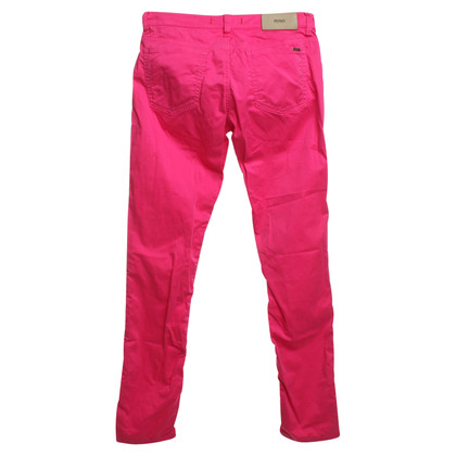 Hugo Boss Broek in Pink
