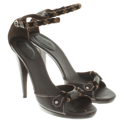Malo Sandals in brown