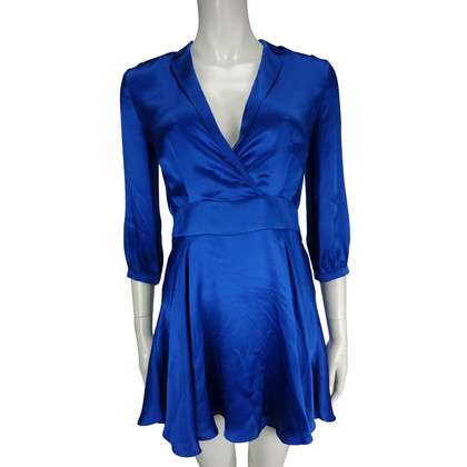 Pierre Balmain Blue silk dress