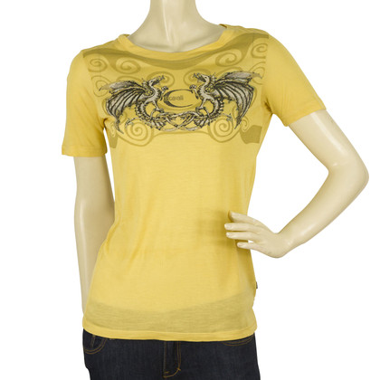 Just Cavalli Giallo draghi top