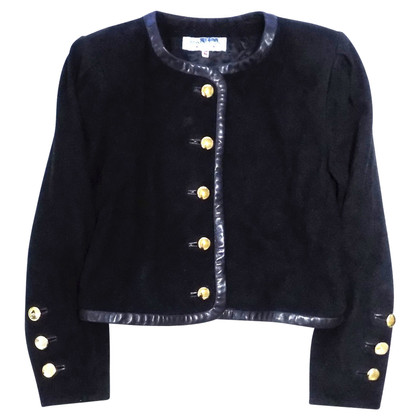 Yves Saint Laurent Giacca vintage in pelle scamosciata