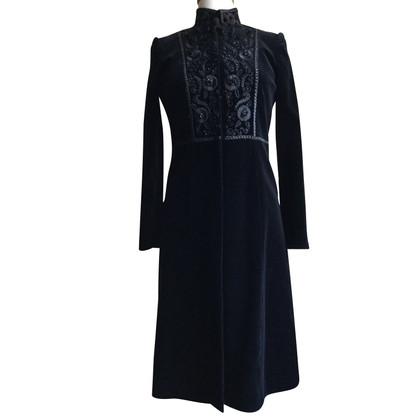 Blumarine velvet coat