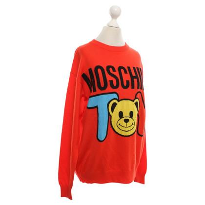Moschino Trui met teddybeer motief