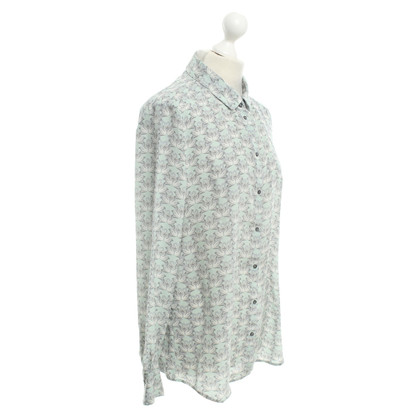 Marc Cain Silk blouse with pattern