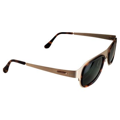 Maison Martin Margiela Sunglasses in bright gold and brown