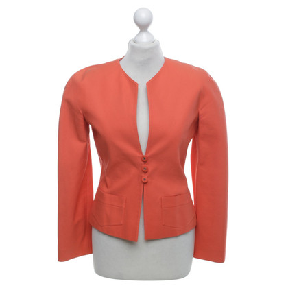 Chanel Blazer in orange