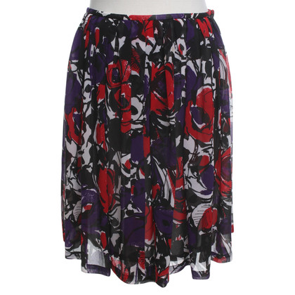 Calvin Klein skirt with a floral pattern