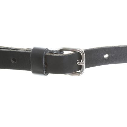 Miu Miu Leather belt with rivets