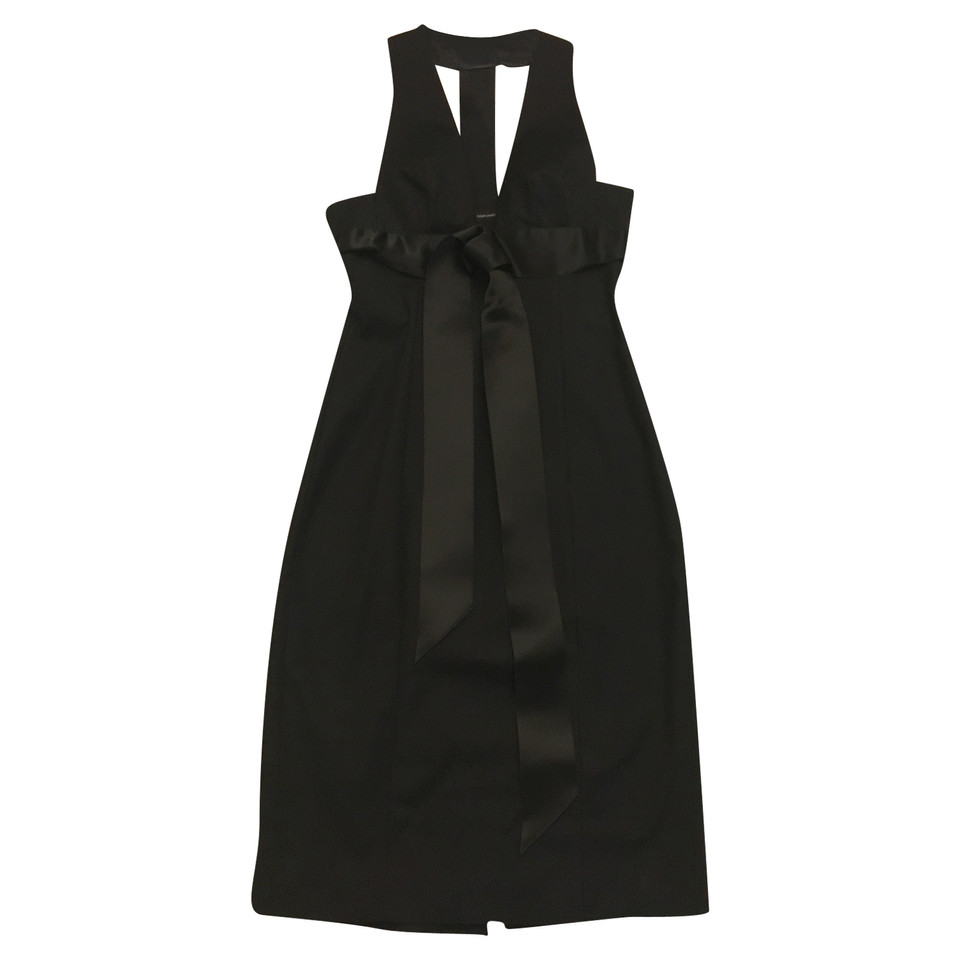 Dsquared2 Black Cocktail Dress