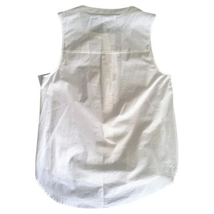 Derek Lam Mouwloze blouse met peplum