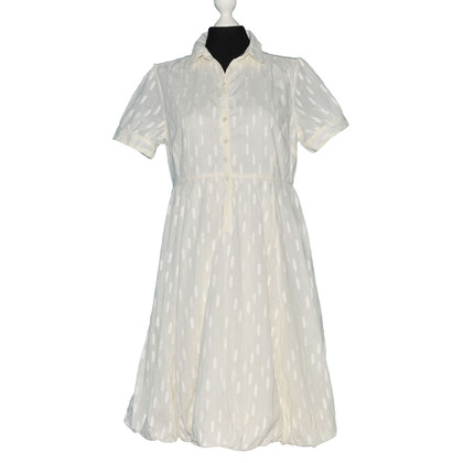 Noa Noa White Cotton Dress