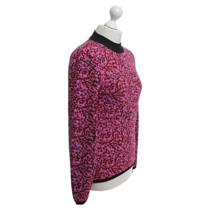McQ Alexander McQueen Top à tricoter dans Bicolor