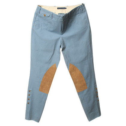 Ralph Lauren Light blue trousers in the tab style