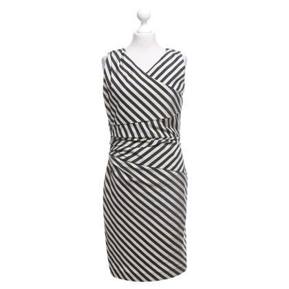 René Lezard Dress in black / beige