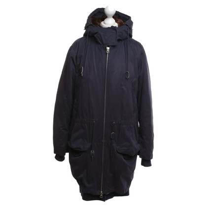 Acne Parka in donkerblauw