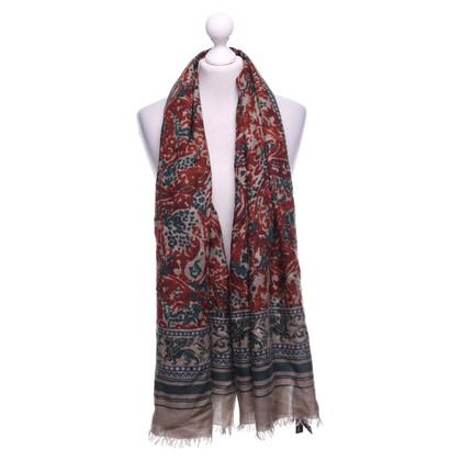Dolce & Gabbana Schal mit Motiv-Print