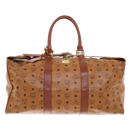 MCM Travel bag with monogram pattern