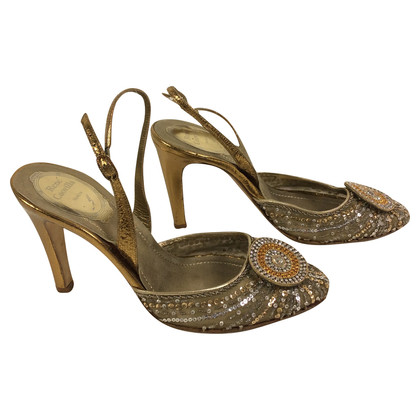 René Caovilla Sandals with sequins