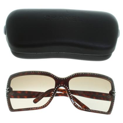 Chanel Occhiali da sole con pietre semipreziose