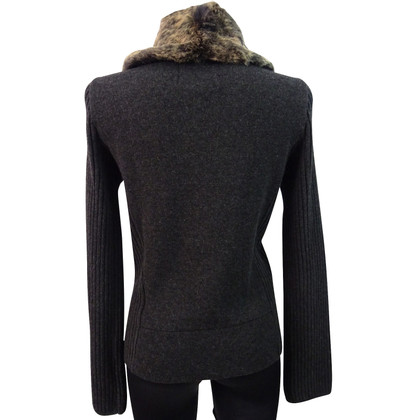Woolrich Cardigan with real fur collar