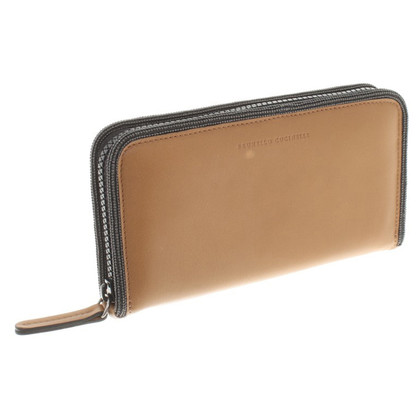 Brunello Cucinelli Wallet in oker