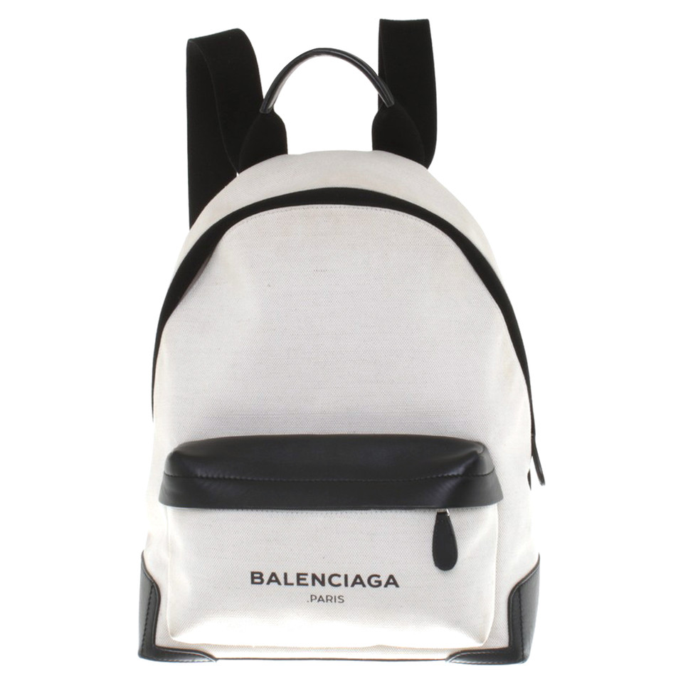 Balenciaga Backpack White