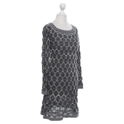 Missoni Patterned dress in grey
