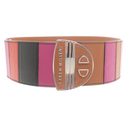 Karen Millen Belt made of leather