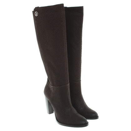 Armani Jeans Boots in Brown