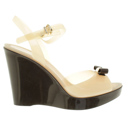 Furla Wedges in Nude