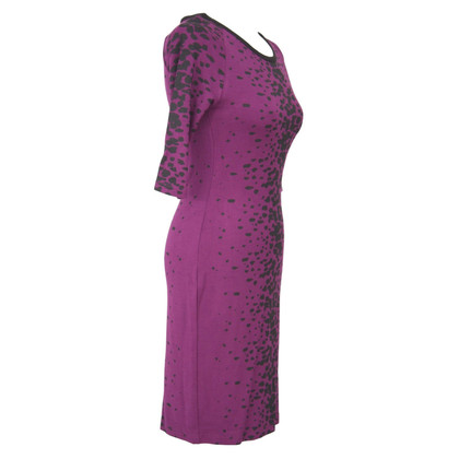 French Connection Dress in violet with pattern