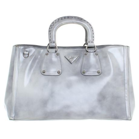 Prada Handtasche in Grau Grau Freies Verschiffen Vermarktbare Günstig Kaufen Angebot Original Zum Verkauf Günstige Preise pqolVf