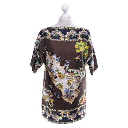 Dolce & Gabbana Silk shirt with pattern