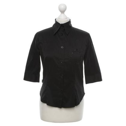 Moschino Classic blouse in zwart