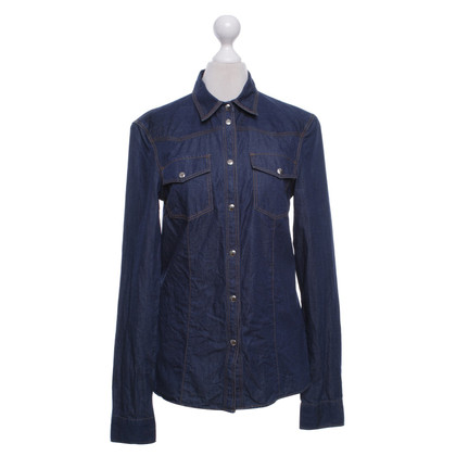 Versace Jeans blouse in blue
