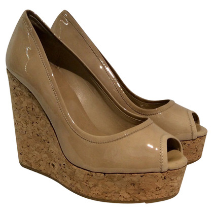 Jimmy Choo Zeppe in beige