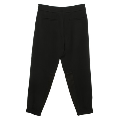 Schumacher trousers in black