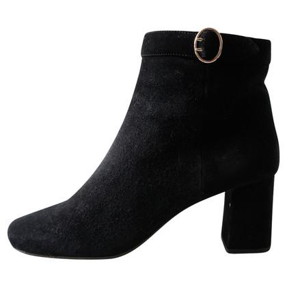 Prada Zwarte suède laarzen