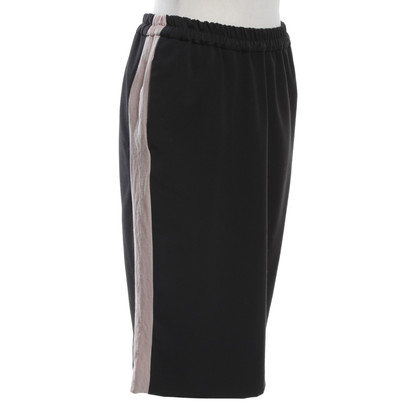 Bellerose skirt with nude colored stripes