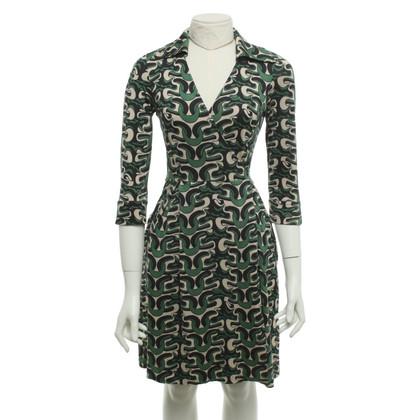 """Diane von Furstenberg Jurk """"Megan"""" met patroon print"""