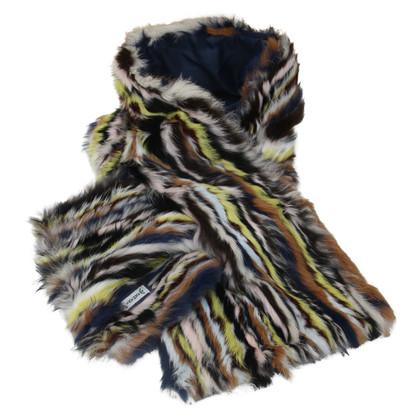 Armani sjaal van het bont