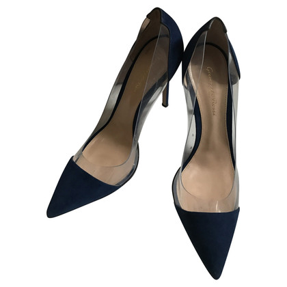 Gianvito Rossi pumps en bleu