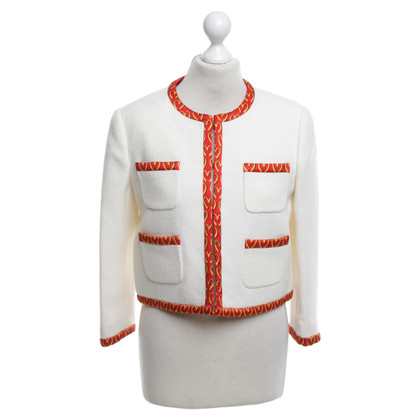 Moschino Blazer with red piping