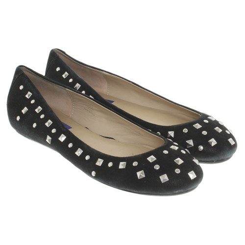 3f130d5a51 Jimmy Choo for H&M Ballerinas in black - Second Hand Jimmy Choo for ...