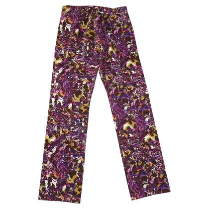 Kenzo Pantalon en multicolore