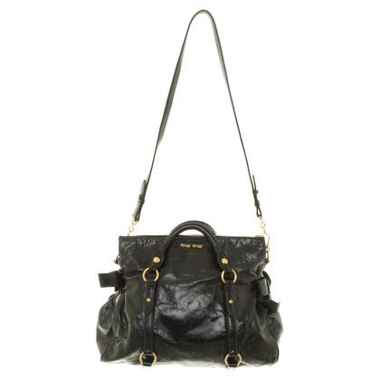 "Miu Miu ""Bow Bag"" in black"